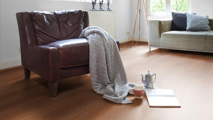 pvc vloer in de woonkamer