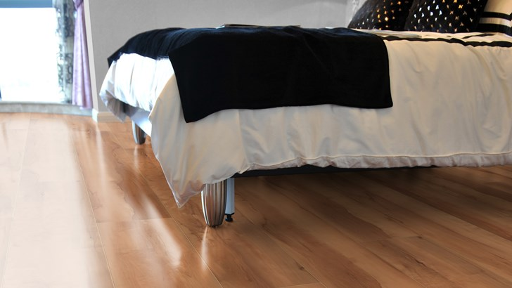 PVC vloer slaapkamer