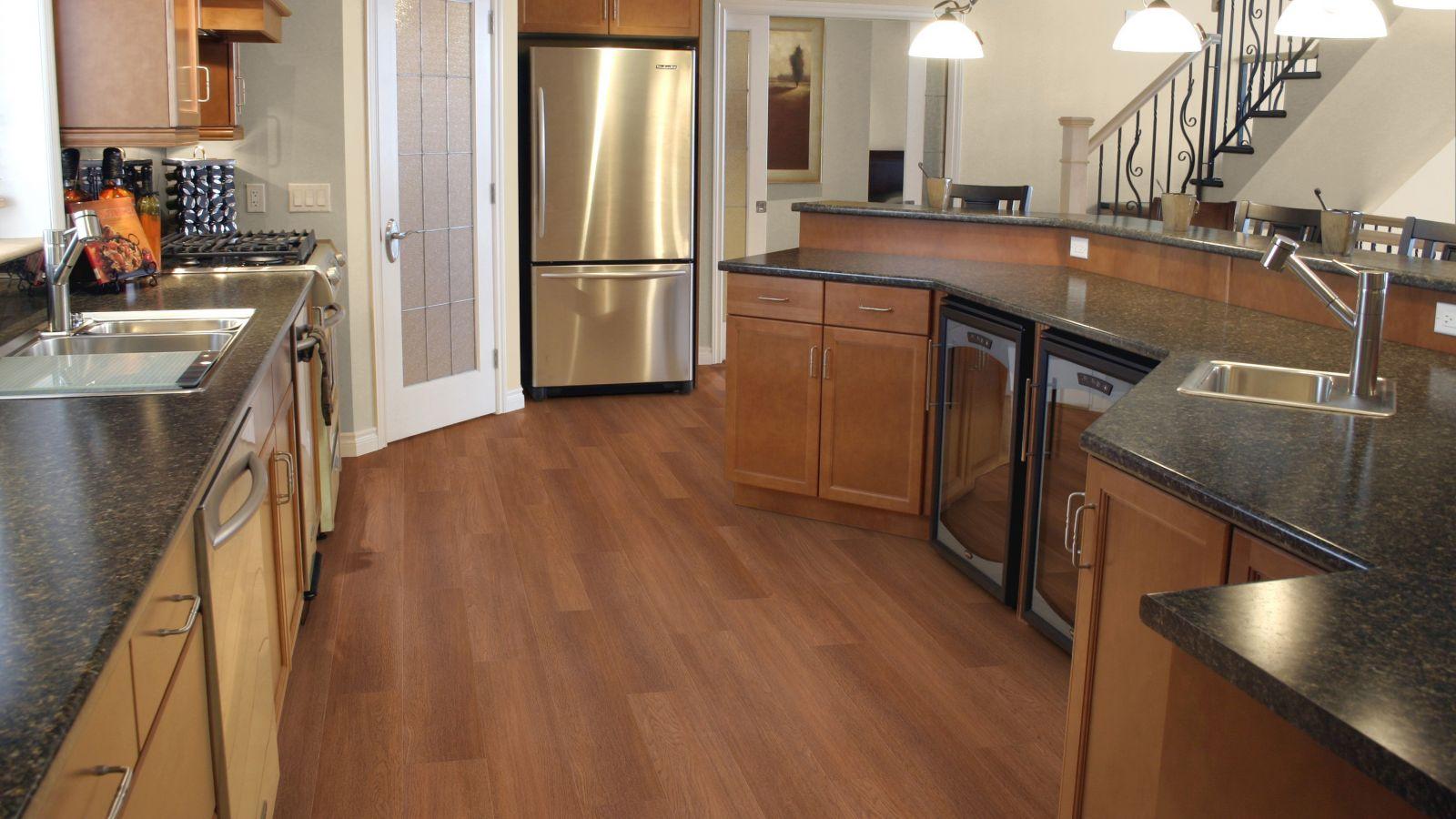 Keukenvloeren pvc vloeren van mflorshop