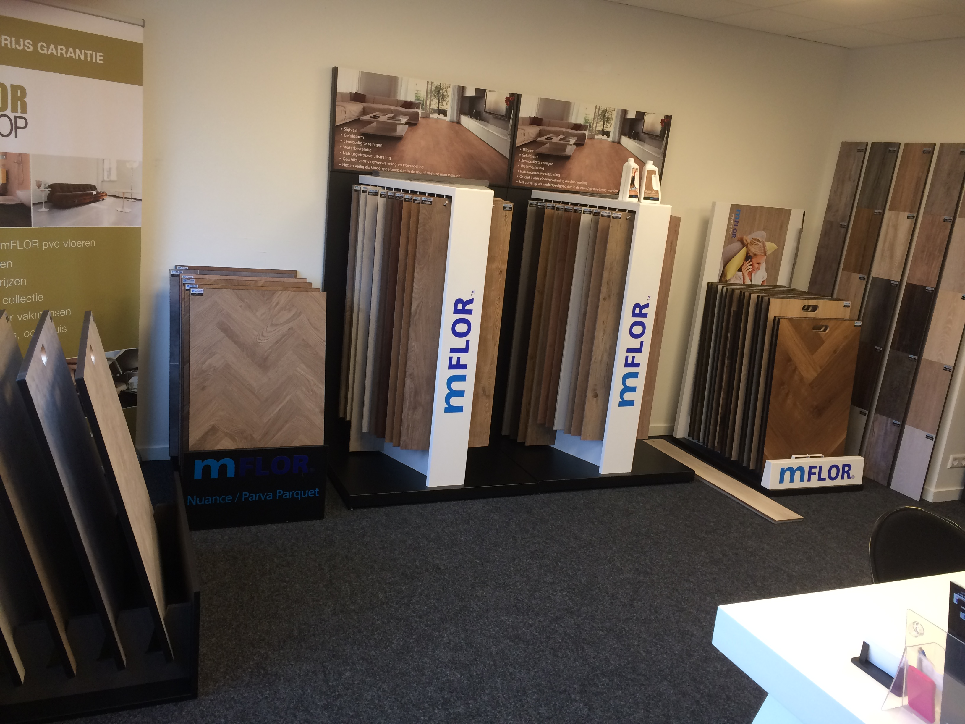 showroom pvc vloeren in weesp