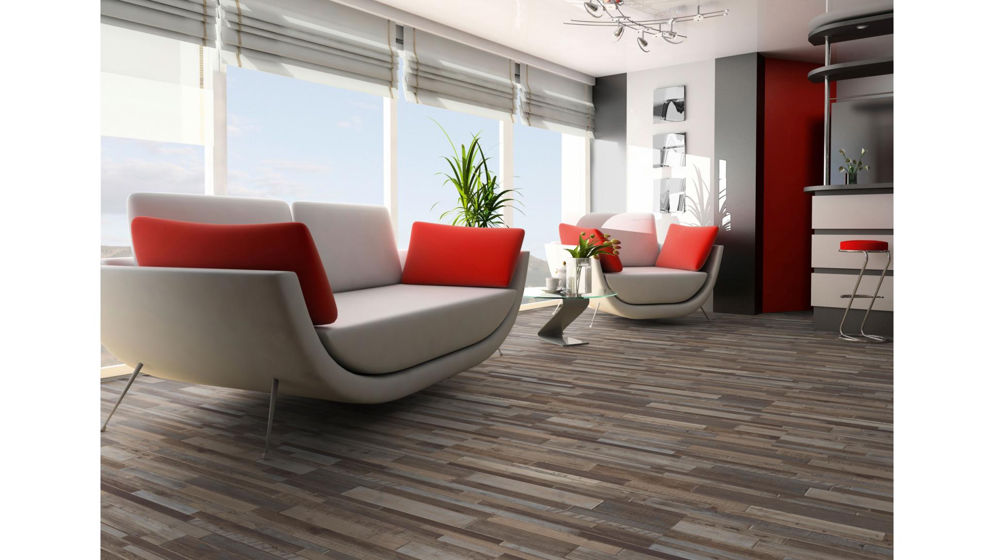 Tegels woonkamer betonlook pvc vloer voordelen fresh grijze