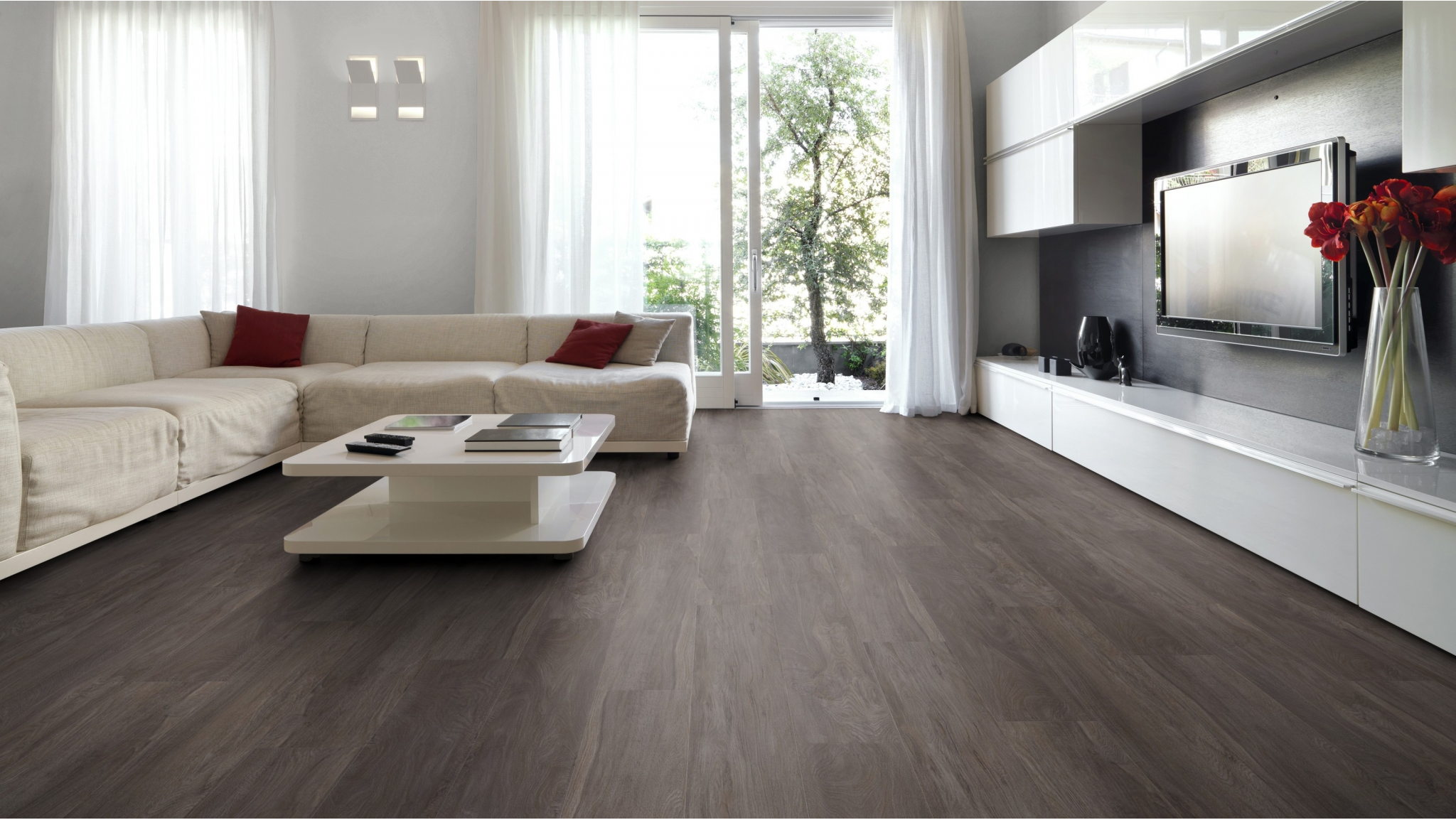 English Oak Epping Oak PVC vloer mFLOR 70597 - Gratis mFLOR PVC Stalen