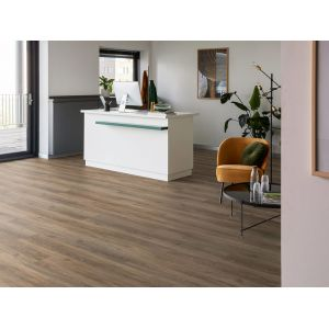 Authentic Oak XL Calabria 56313 PVC vloer mFLOR kantoor